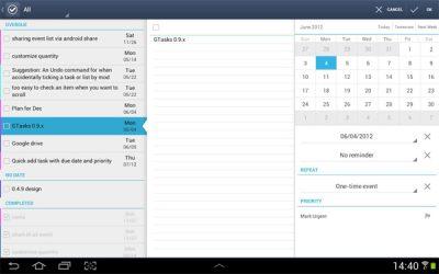 Gestor de tareas para Android Gratis en español