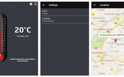Aplicaciones de termómetro corporal y ambiental GRATIS en Android para medir la temperatura