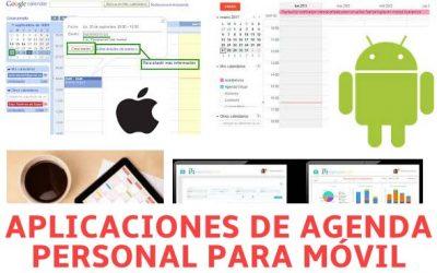Aplicaciones de Agenda Personal Gratis en Español para Android e iPhone