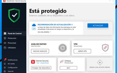 Antivirus Bitdefender Internet Security 2019 en español [REVIEW]