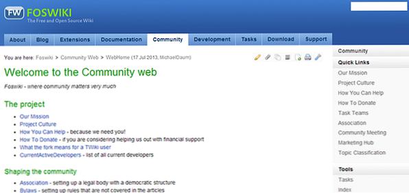 3 alternativas a MediaWiki al alojar su propia wiki