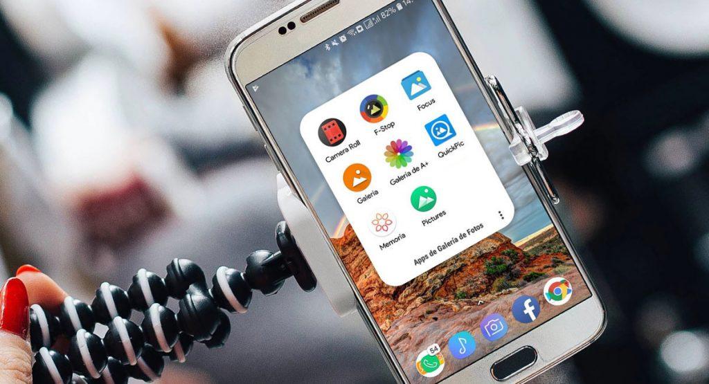 4 excelentes aplicaciones de galería alternativas gratuitas para Android