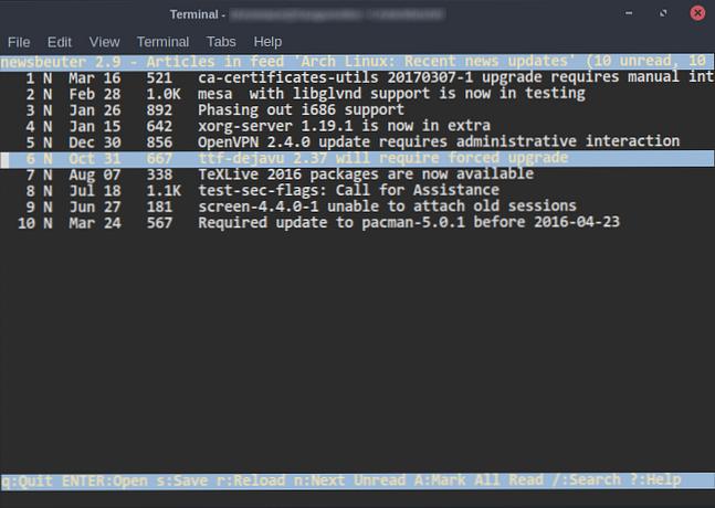 5 alternativas de terminal a las aplicaciones de escritorio de Linux