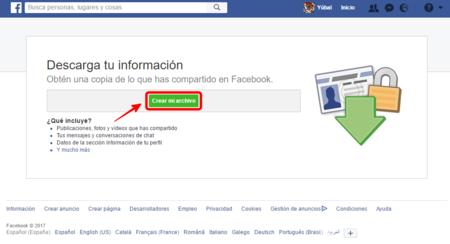 Alternativas a copia de seguridad de fotos de Facebook