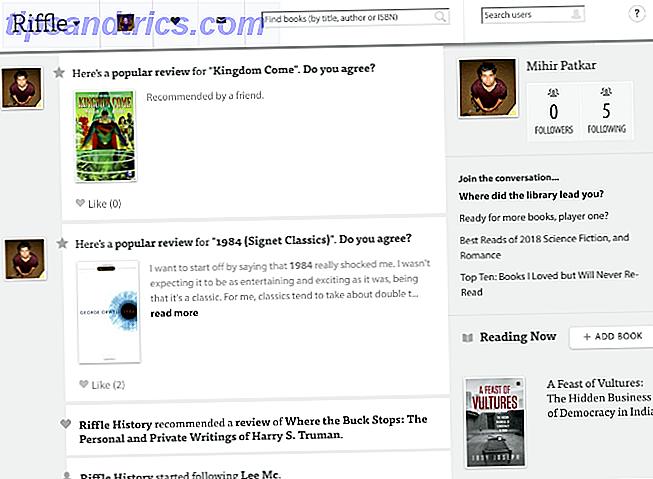 Alternativas a Goodreads sitios de libros y aplicaciones
