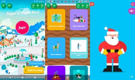 Aplicación de Android para seguir a Papá Noel