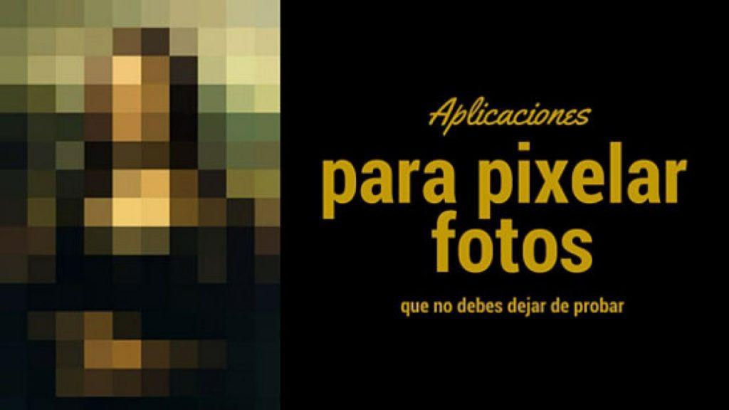 Aplicación para pixelar fotos