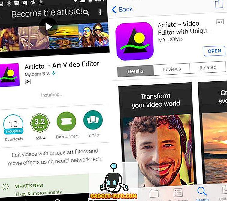 Artisto: una gran aplicación similar a Prisma para videos