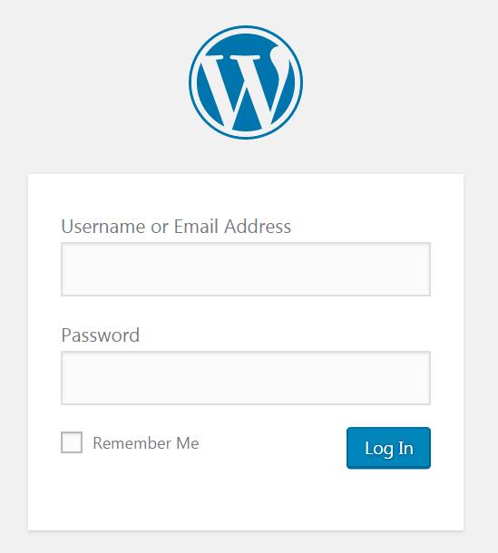 Cambiar la URL de la página de inicio de sesión de WordPress