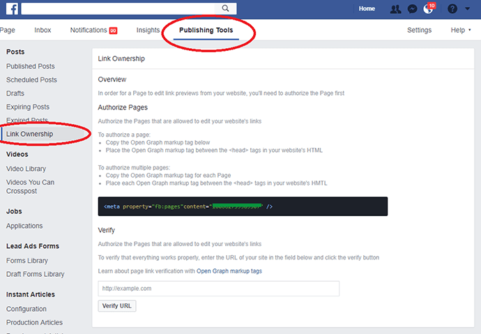 Cómo actualizar la vista previa de la publicación de Facebook