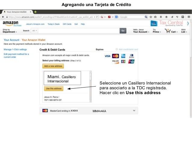 Cómo cambiar de tarjeta de crédito en Amazon