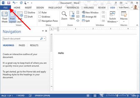 Cómo cambiar el idioma en Microsoft Word