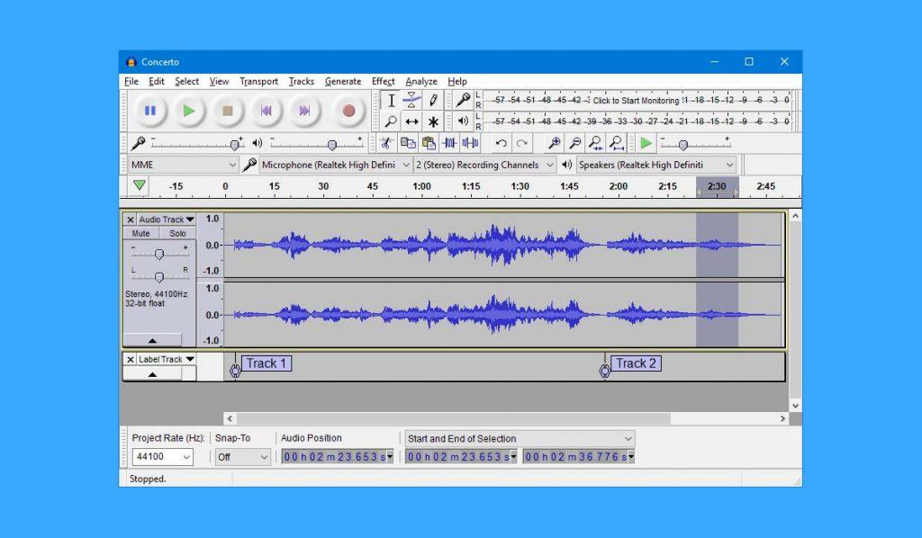 Cómo cortar canciones online
