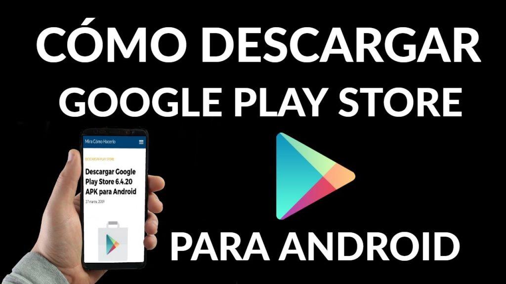 Cómo descargar e instalar Google Play Store