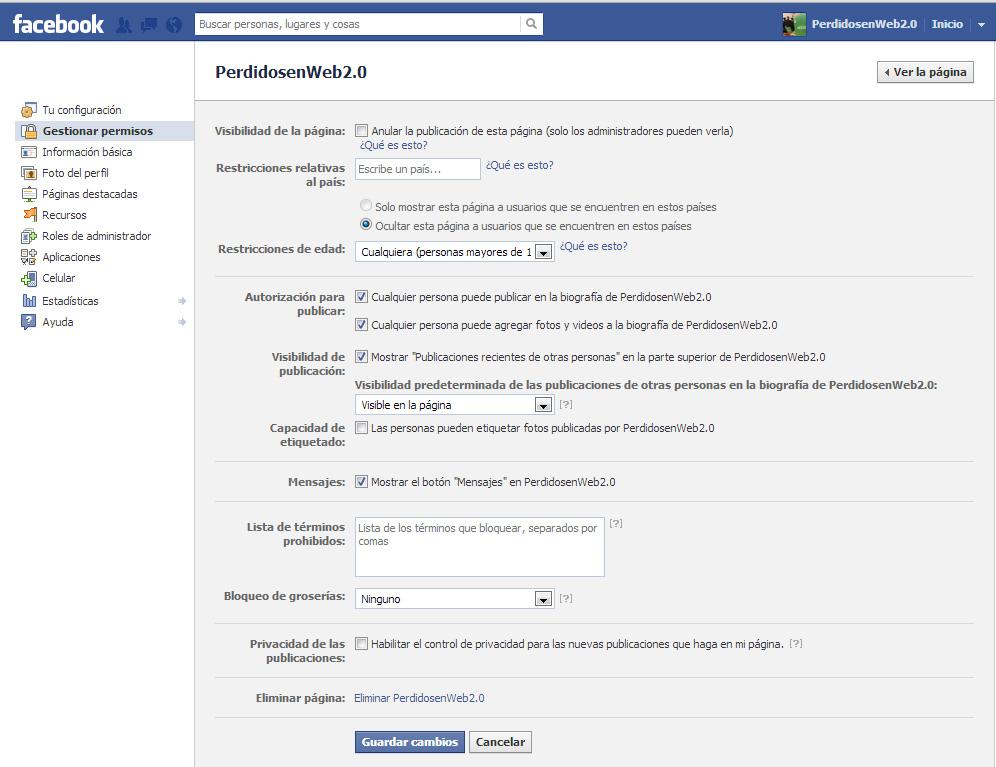 Cómo deshabilitar los comentarios en una página de Facebook