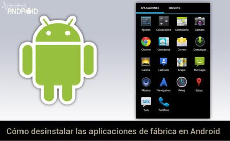 Cómo desinstalar aplicaciones del sistema en Android