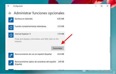 Cómo desinstalar Internet Explorer de forma permanente
