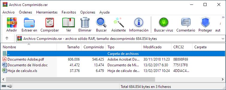 Cómo extraer archivos RAR en Windows y Mac