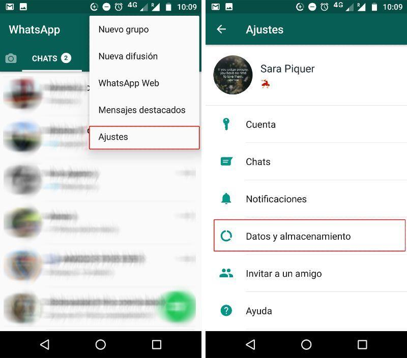 Cómo guardar la etiqueta de WhatsApp