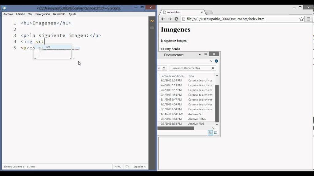 Cómo insertar una imagen en HTML