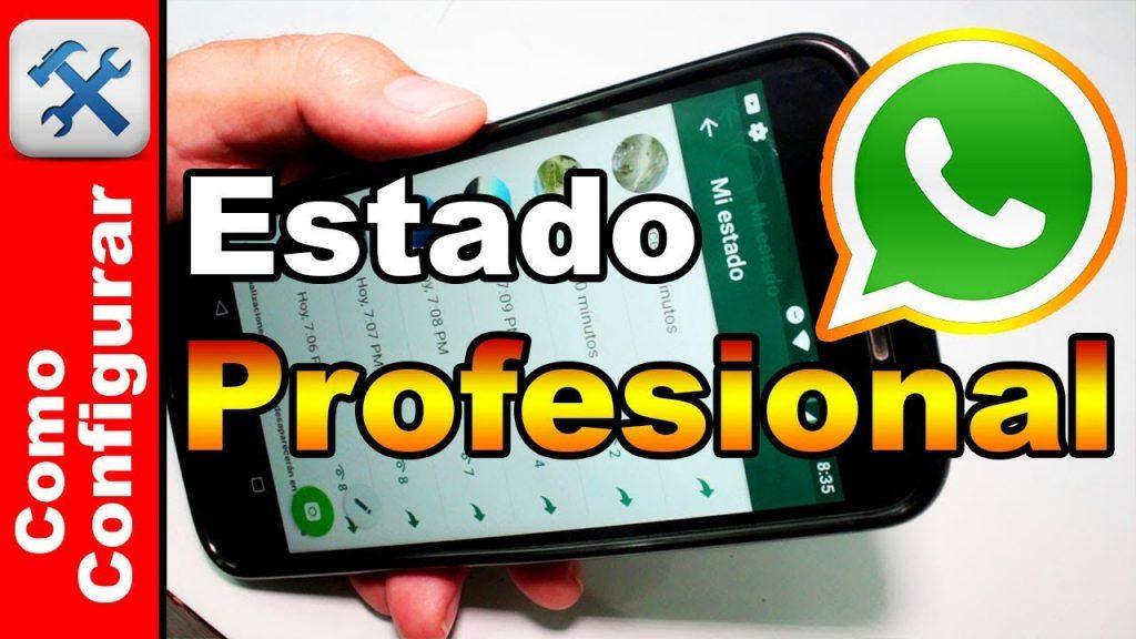 Cómo poner un video en el estado de WhatsApp