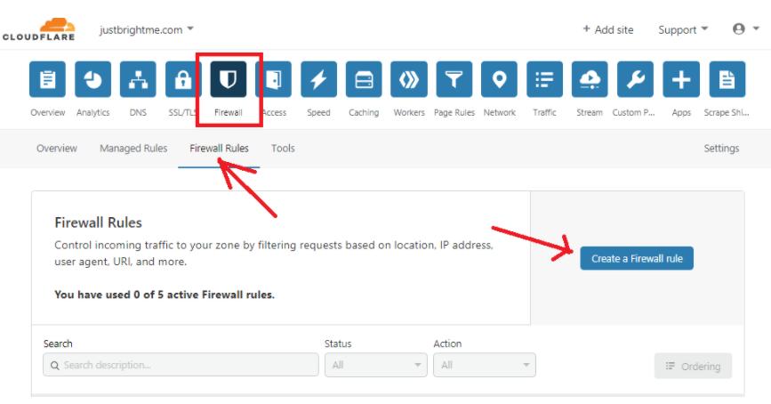 Cómo proteger su inicio de sesión de WordPress con Cloudflare