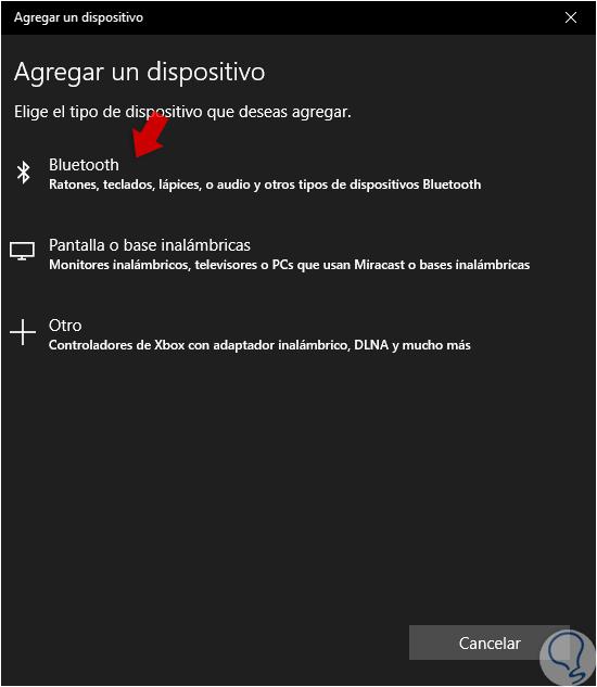 Conecte el móvil Android a la PC a través de Bluetooth