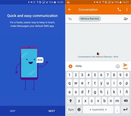 envia mejores mensajes de texto con estas aplicaciones de sms alternativas para android