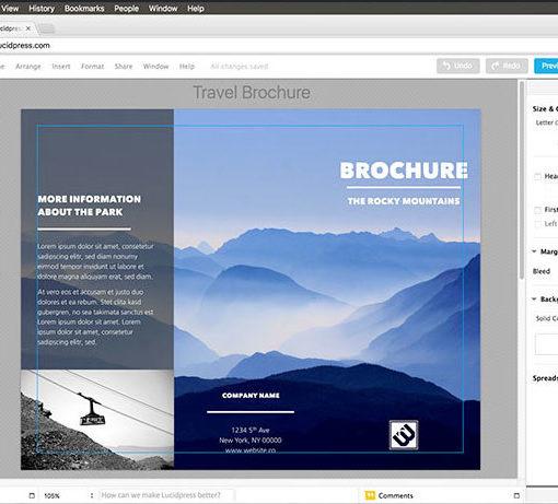 Lucidpress: la alternativa gratuita de InDesign