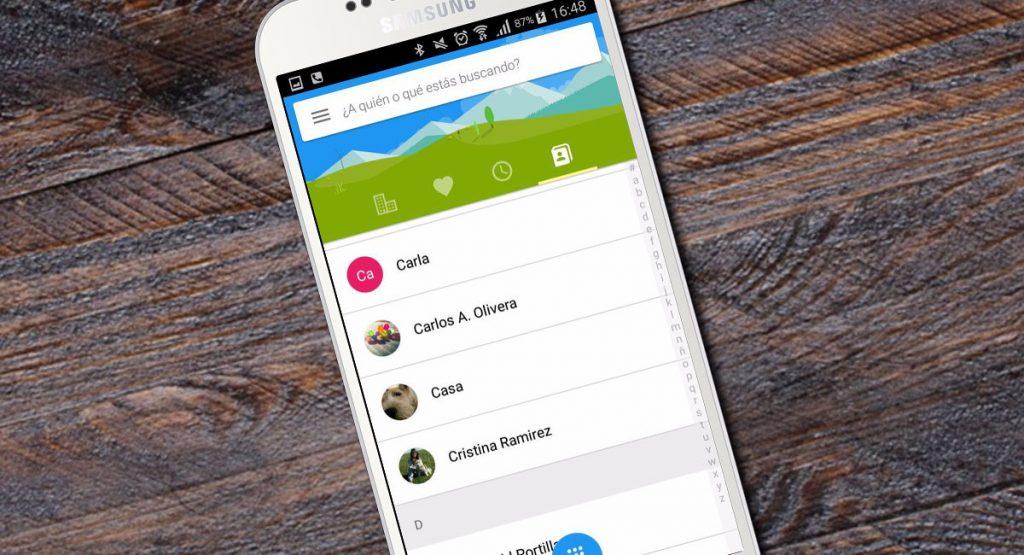 Mejores Alternativas de Contactos para móvil