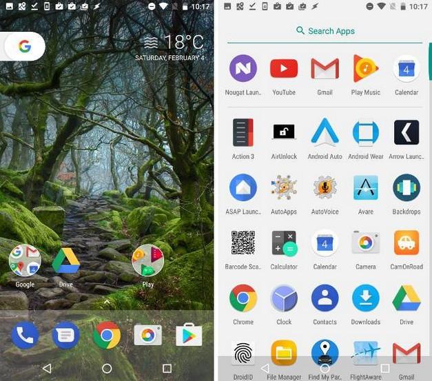 Mejores alternativas de Google Now Launcher