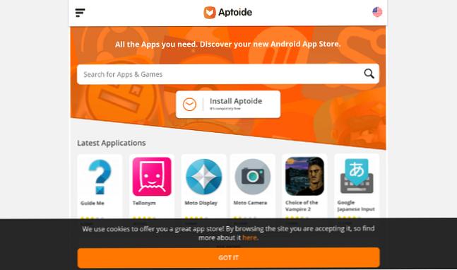 Por qué debería reemplazar Google Play con una tienda de aplicaciones alternativa