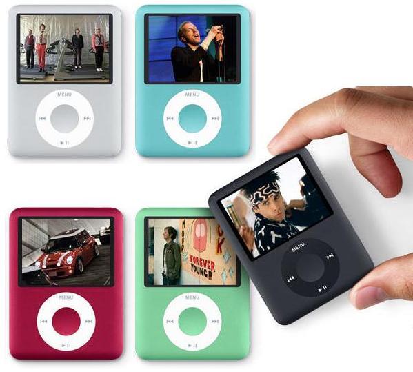 ¿Qué reproductores de MP3 sin pantalla táctil son alternativas al iPod?