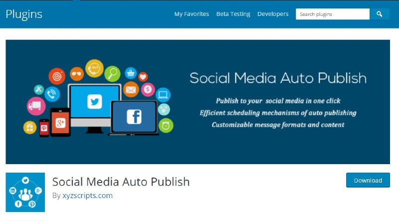 Wp Social Media Auto publish - How to Autoshare Your Blog Posts on Social Media